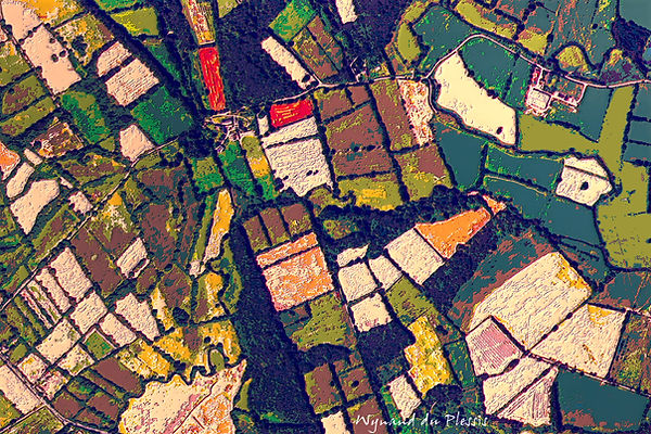 Luxury Fine Art Prints - EARTH FROM ABOVE-1