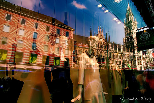 City windows - fine art prints on the Art Print Media of your choice
