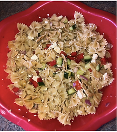 Greek Feta Pasta Salad