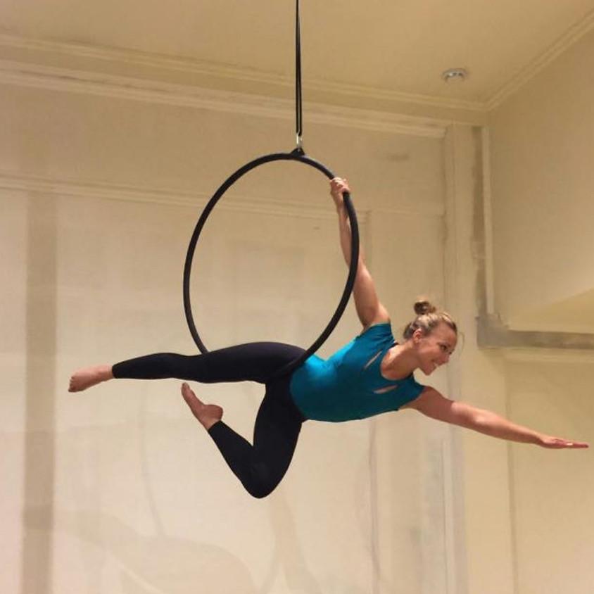 Introductie workshop Aerial Hoop & Trapeze 4 weken