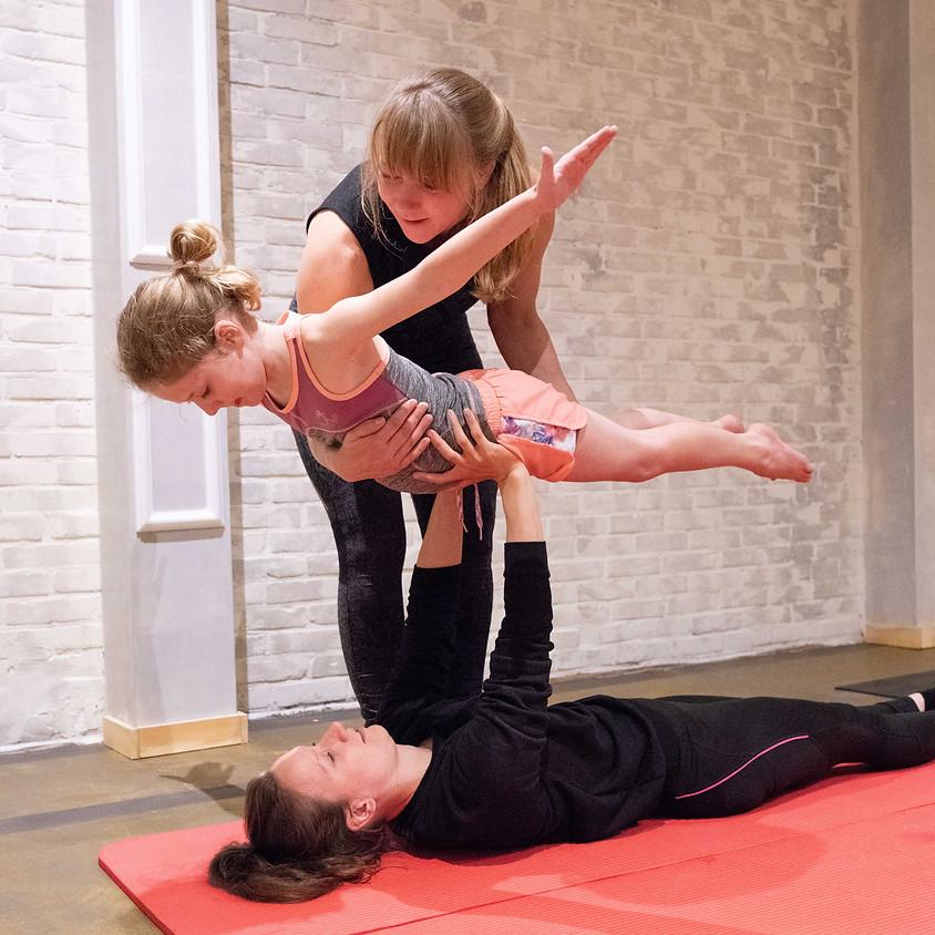 Workshops Acrobatiek kids | 5 weekse cursus