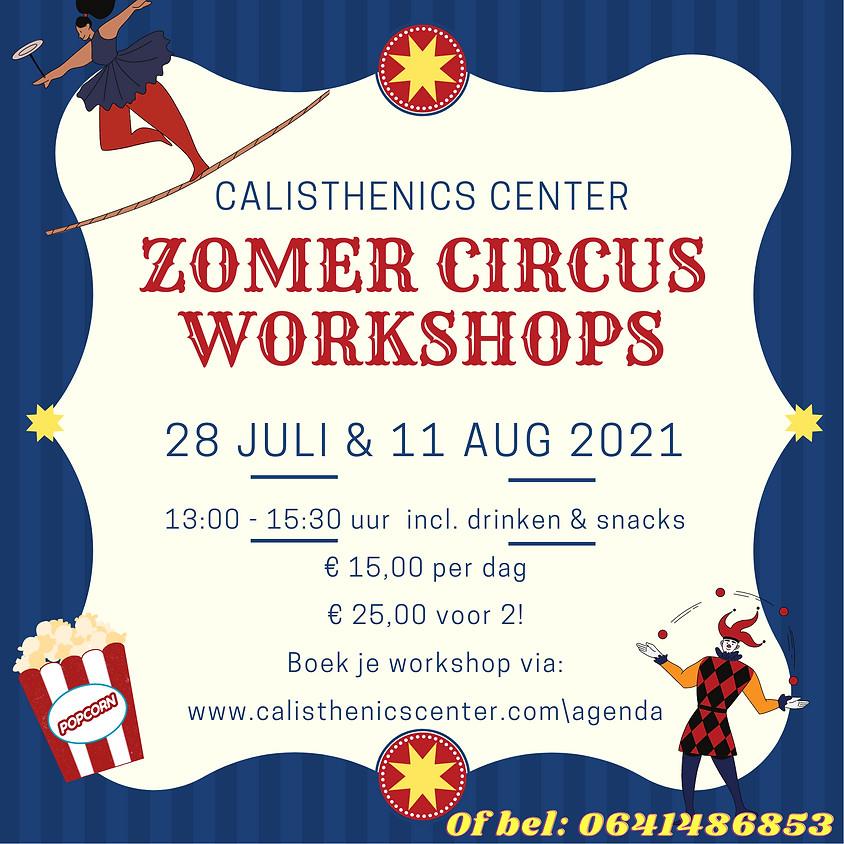 Zomer circus workshop | Jeugd