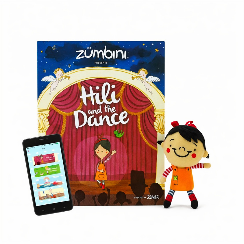 Zumbini | 10-weekse cursus | start 8 oktober 2019 Hili and the Dance