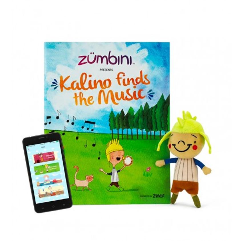 Zumbini | 7-weekse cursus | start 21 oktober 2019 Kalino finds the music