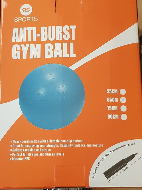 Gym ball anti-burst 65 cm
