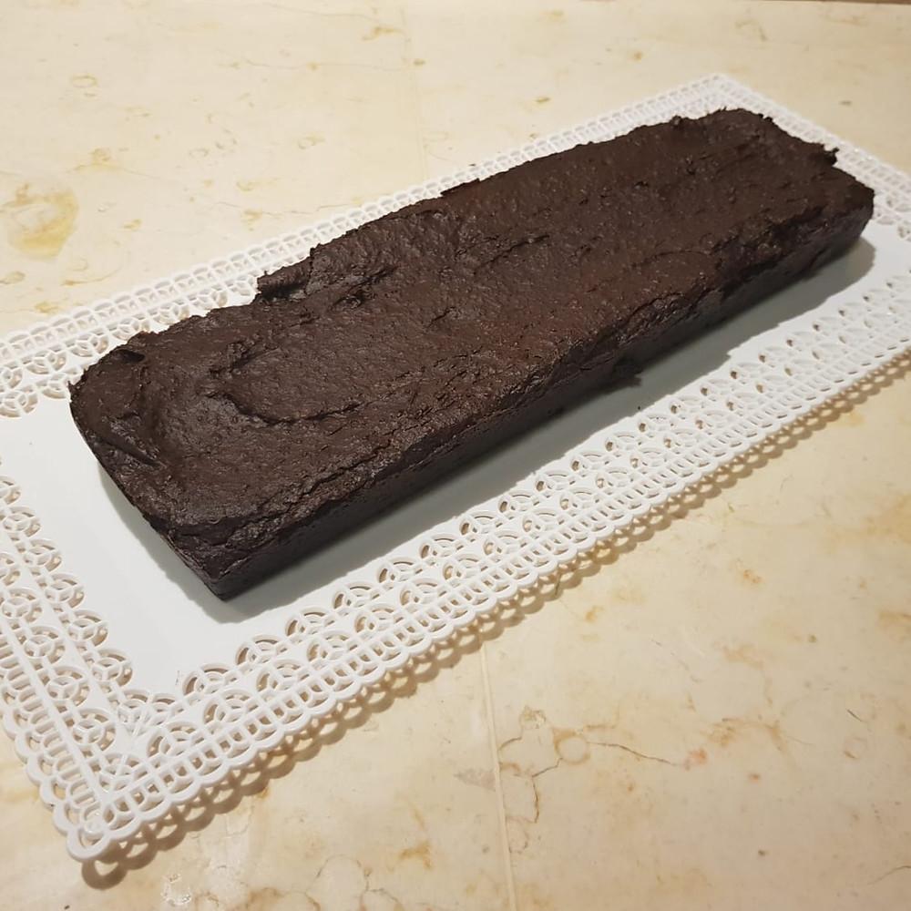 עוגת בראוני טבעונית ללא קמח