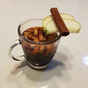 סיידר תפוחים חם
