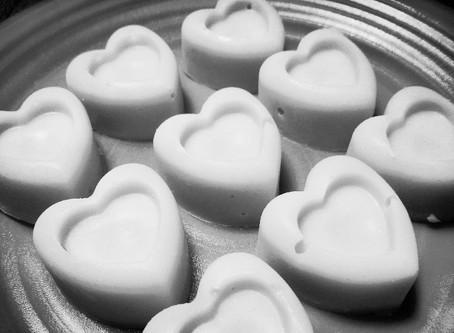 שוקולד לבן (טבעוני) של קארונה