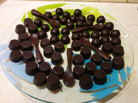 מגש שוקולד לאירוח