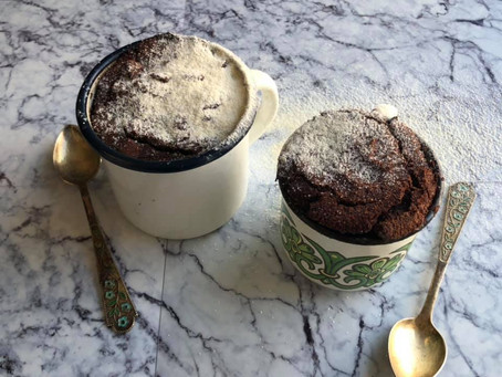 סופלה שוקולד חם של מאיה