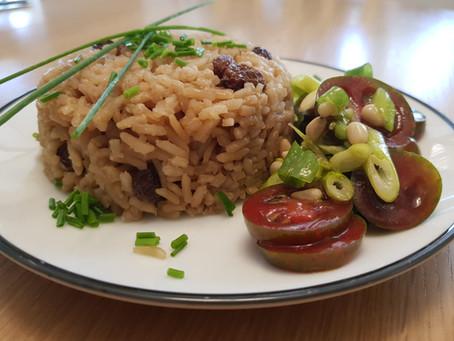 אורז קולומביאני עם קוקוס