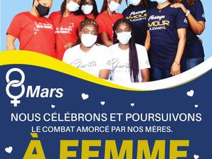 8 Mars, CHARITIS engagé aux cotés des Femmes