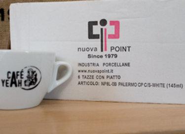 Lot de 6 tasses cappuccino Le CafeYeah