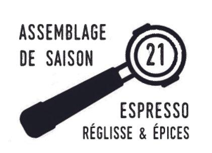 Saison 21 - assemblage pour expresso