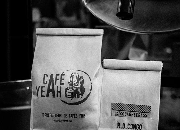 Bagheera, café arabica de RD Congo