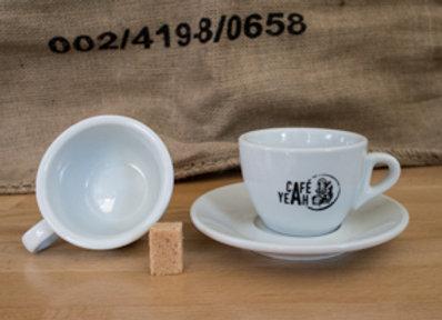 Tasse cappuccino Le CafeYeah
