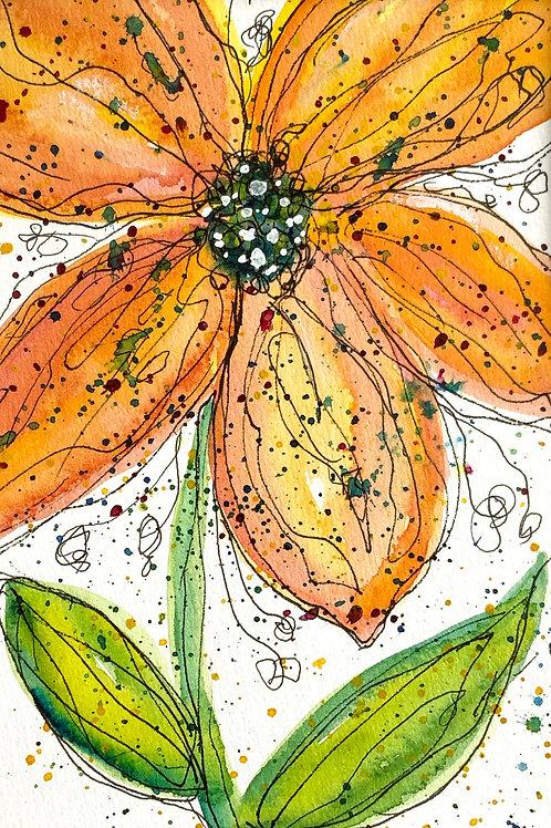 Whimsical Saffron