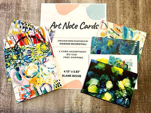 Art Note Card Assortment