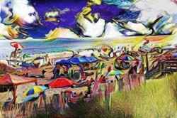 Picasso's Beach