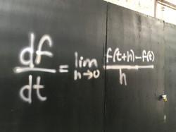 Mathematical Graffiti found in NYC