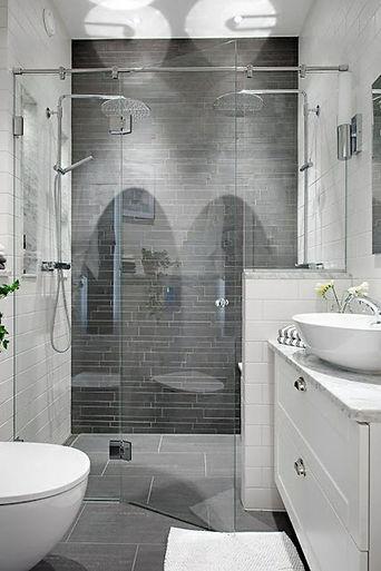 Dusche mit bodengleichem Einstieg