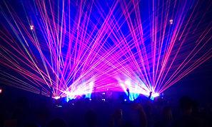 raio laser para eventos