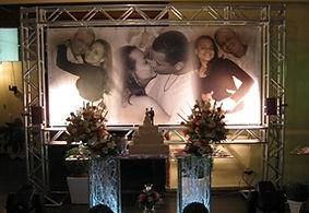 banner de casamento