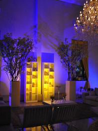 luz de led para festa debutante
