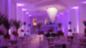 Iluminação decorativa para casamento, aniversário, bodas e eventos