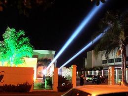 Sky light para festa de casamento