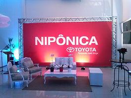 Backdrop para eventos corporativos