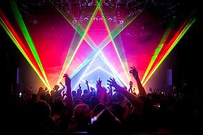 raio laser para festas