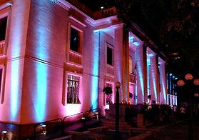 luz decorativa para festa corporativa