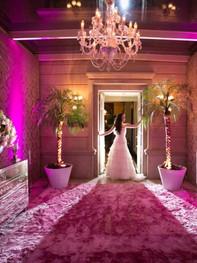 luz decorativa de led para casamento