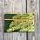 Thumbnail: Long Double Zipper Pouch in Green with Western Maidenhair Fern Design