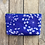 Thumbnail: Cosmetics Pouch in Purple with Queen Anne's Lace Flower Design
