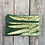 Thumbnail: Long Double Zipper Pouch in Green with Lady Fern Design