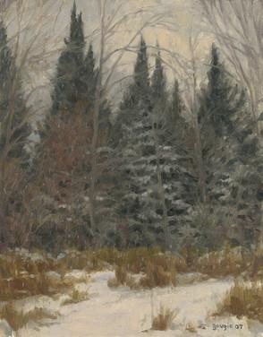 Dusk, Winter