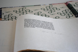 Book, colophon