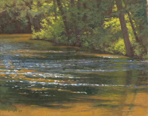 River in June