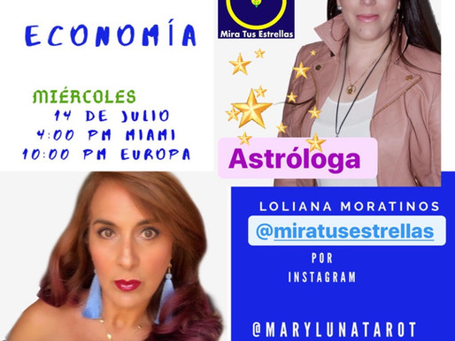 """En Vivo Predicciones Astrales """"Economía"""""""