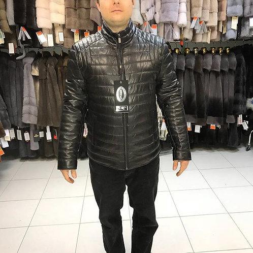 Мужские кожаные с мехом норки в Дубне