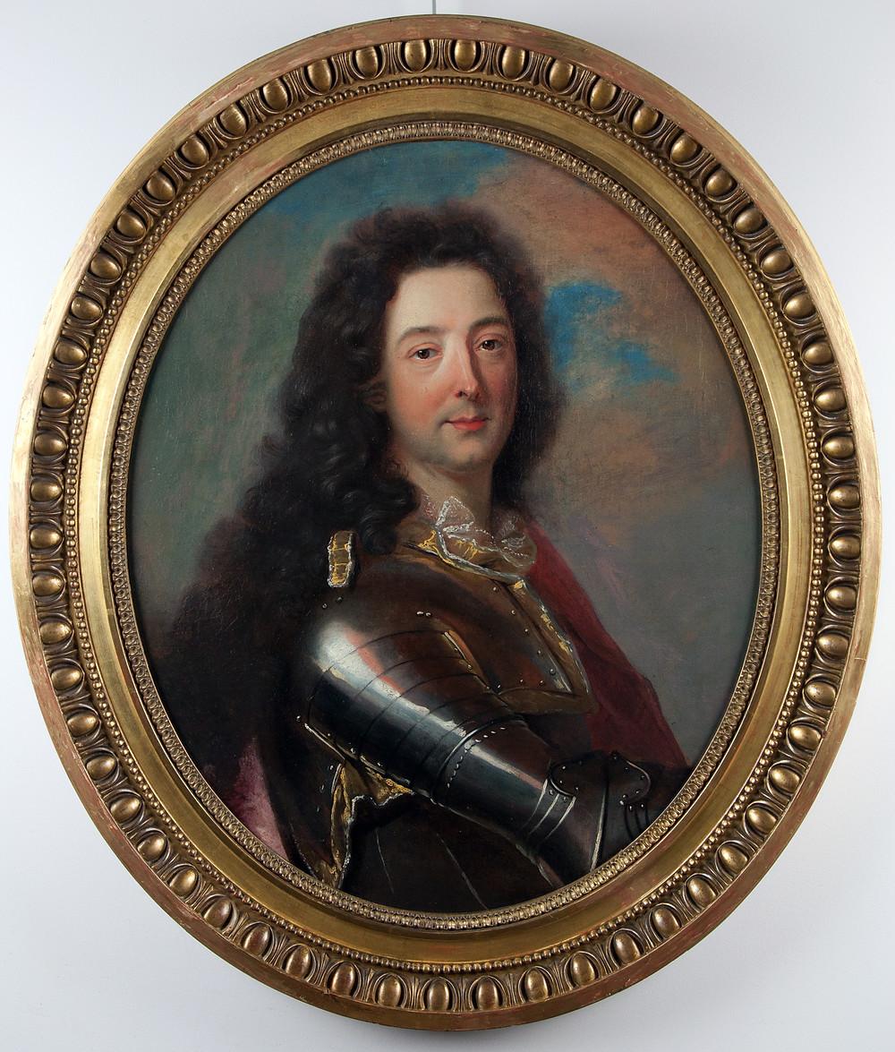 Atelier de Hyacinthe Rigaud, Portrait d'Emmanuel Théodose de La Tour d'Auvergne, duc d'Albret, vers 1705-1708 (?), Paris, Galerie FC