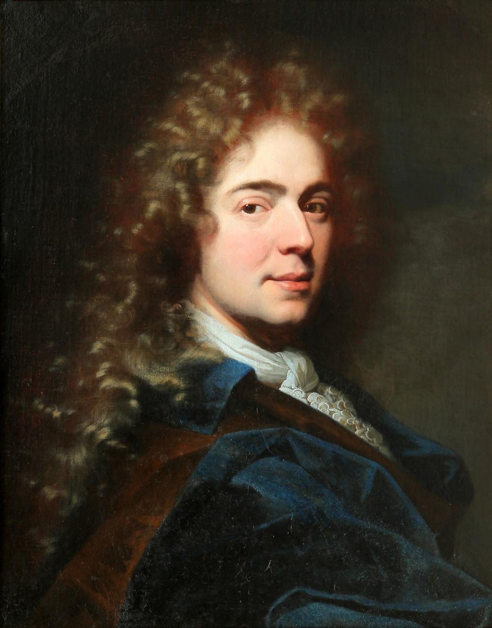 Hyacinthe Rigaud, Portrait de Monsieur Sarazin, 1685, collection particulière