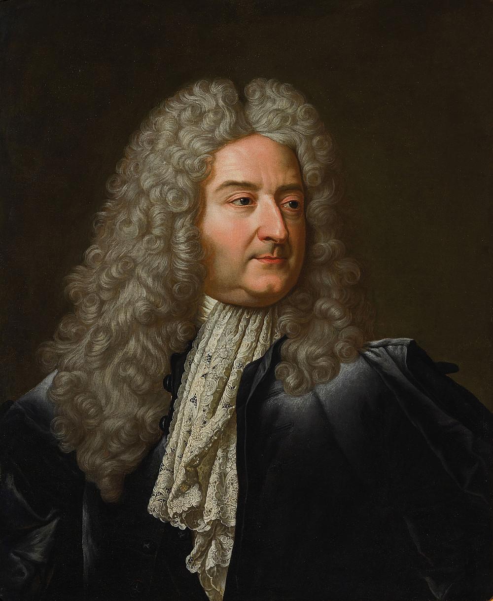 Anonyme d'aprèsHyacinthe Rigaud, Portrait de Michel Robert Le Peletier des Forts, après 1727,collection particulière