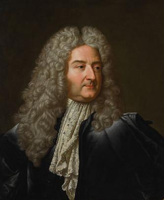 Une version en buste du portrait du contrôleur général des finances Le Peletier des Forts