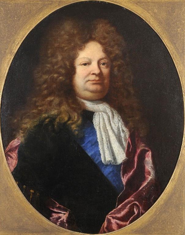 Hyacinthe Rigaud, Portrait d'un récipiendaire de l'ordre du Saint-Esprit, vers 1690-1700, collection particulière