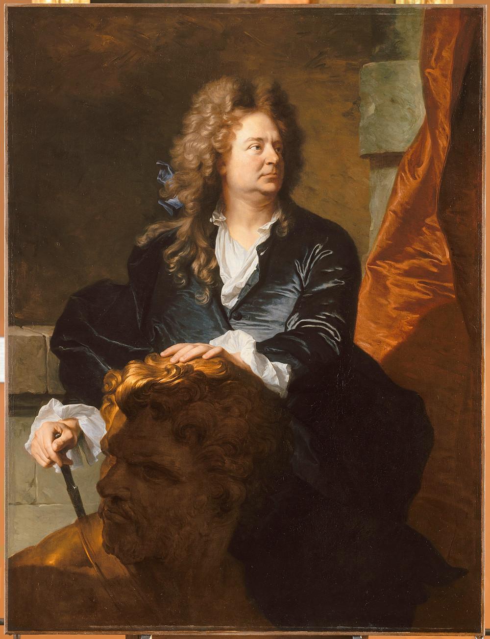 Hyacinthe Rigaud, Portrait de Martin Desjardins, 1700, Paris, musée du Louvre, inv. 7511