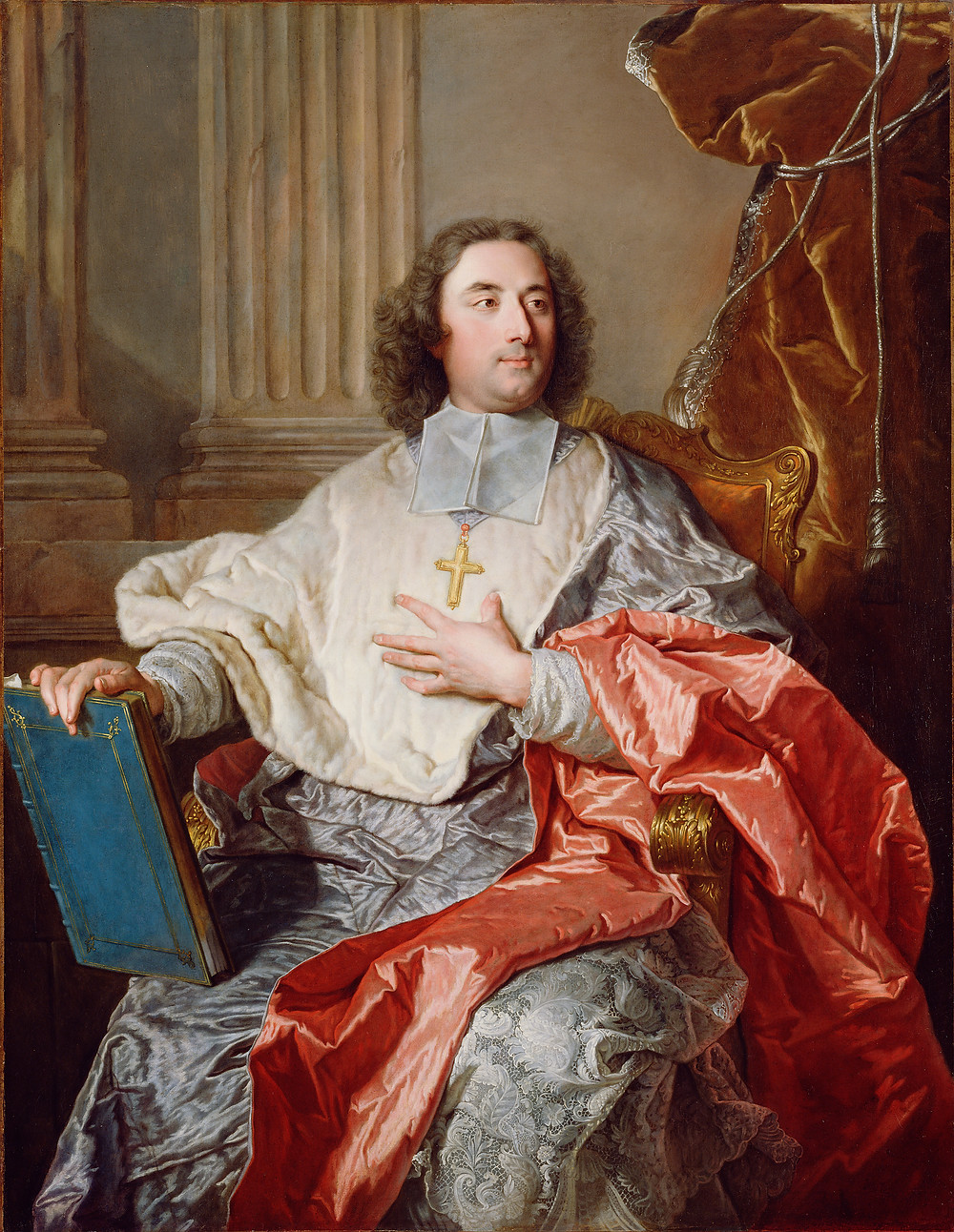Hyacinthe Rigaud, Portrait de Charles de Saint-Albin, 1723-1724, États-Unis, Los Angeles, The J. Paul Getty Museum, inv. 88.PA.136