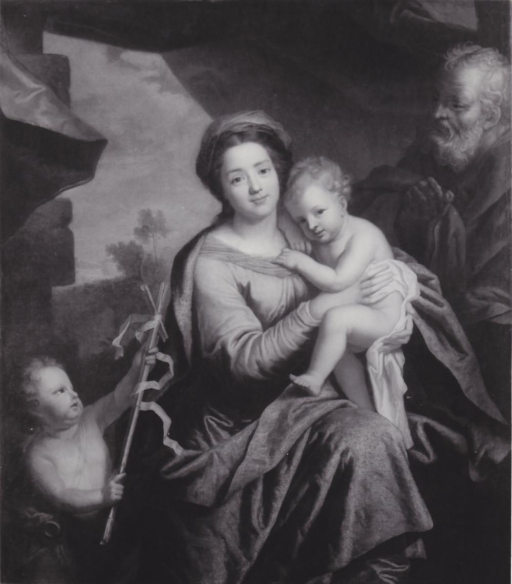 Gaspard Rigaud, Sainte Famille, 1696, collection particulière